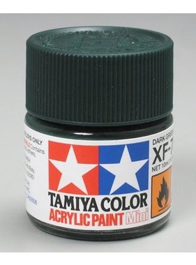 TAMIYA TAMIYA 10ml XF 70 DARK GREEN