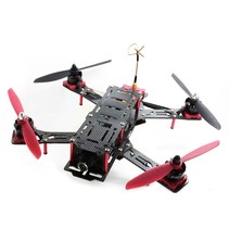 Nighthawk Pro 280 size Carbon fiber and Glass fiber mixed Quadcopter frame-RTF