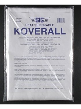 "SIG SIG KOVERALL 48"" X 5 YDS LIGHT WEIGHT FABRIC"