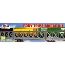 ATLAS PONY TRUSS BRIDGE KIT HO SCALE