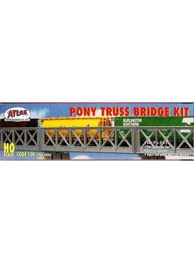 ATLAS ATLAS PONY TRUSS BRIDGE KIT HO SCALE