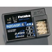 Futaba R204GF-E 4-Channel 2.4GHz S-FHSS Micro Receiver