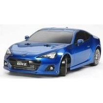 TAMIYA XB 1/10 SUBARU BRZ DRIFT SPEC  4WD ON ROAD CAR<br />( REQUIRES 7.2V BATTERY CHARGER &amp; 4 AAS )
