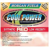 COOL POWER RED SYTHETIC LOW VISCOSITY OIL 3.78lt