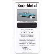 BARE METAL FOIL CO BLACK CHROME