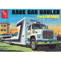 AMT FORD LN 8000 RACE CAR HAULER LOUISVILLE LINE 1:25 RETRO DELUXE PLASTIC KIT