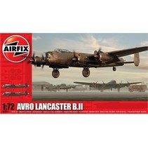 AIRFIX AVRO LANCASTER B.II 1/72 SCALE ( DISCONTINUED )