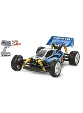 TAMIYA TAMIYA XB 1/10 NEO SCORCHER OFF ROAD BUGGY 4WD  ( REQUIRES 7.2V BATTERY CHARGER & 4 AA'S )