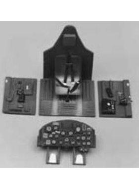 TOPFLITE TOP FLITE 1/8 SCALE P-47D THUNDERBOLT COCKPIT INTERIOR KIT  TOPQ8405