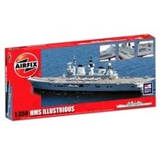 AIRFIX AIRFIX 1/350 HMS ILLUSTRIOUS  A14201 ( disc )