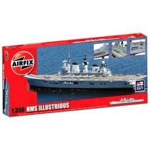 AIRFIX 1/350 HMS ILLUSTRIOUS  A14201 ( disc )