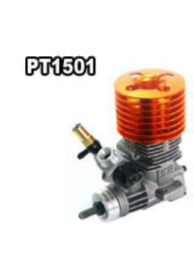 SH ENGINES SH 15 3PORT SIDE OS SHAFT ROTARY CARBY ORANGE HEAD