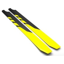 ROTORTECH 600mm CARBON BLADES 50 SIZE