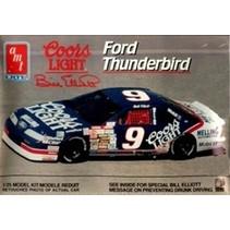 AMT FORD THUNDERBIRD 1991 COORS LIGHT #9 BILL ELLIOTT NASCAR