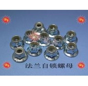 HY MODEL ACCESSORIES HY FLANGED METRIC NYLOCK NUT 3.0mm ( 100 PK )<br />( OLD CODE HY171801 )