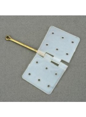 DUBRO DUBRO NYLON HINGES. HINGE PIN LOCKED IN PLACE CAT. NO. 117