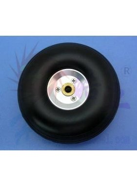 HY MODEL ACCESSORIES HY ALLOY RIM WHEEL W/RUBBER TYRE  89 X 5 X 32MM  3.5&quot;<br />