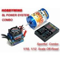 HOBBY WING COMBO BL EZ RUN SERIES BRUSHLESS SYSTEM ESC, MOTOR & PROGRAM CARD  13T