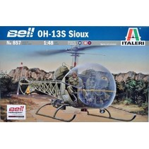 ITALERI BELL OH-13S SIOUX 1/48 WITH AUSTRALIAN DECALS