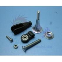 HY ALUMINIUM CONTROL HORN STEM BALL BEARING 24 x 2.8 X 2 ( 2pk )<br />( OLD CODE HY072205 )