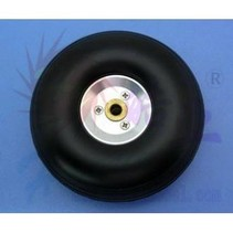 HY ALLOY RIM WHEEL W/RUBBER TYRE  83 X 5 X 30.5MM  3.25&quot;<br />