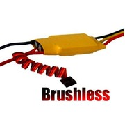 HY MODEL ACCESSORIES HY BRUSHLESS SPEED 25AMP PROG PROGRAM THROUGH STICK MOVEMNETS<br />( OLD CODE HY260202 )
