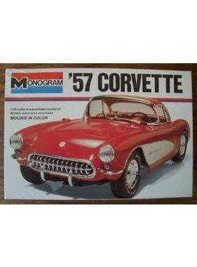 MONOGRAM MONOGRAM 57 CORVETTE 1/24 SCALE   2227