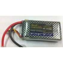 LION POWER LIPO 30C 7.4V 1500mah READ SAFETY WARNING BEFORE USE 105x35x18mm  79gr SOLD WITH DEANS PLUG