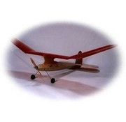 SPIRIT OF YESTERYEAR Lanzo Bomber (Electric RC) KIT <br /> Wing Span: 70.5&quot;<br /> Wing Area: 630 sq. in.