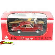 OZ LEGENDS HOLDEN HK MONARO GTS PICARDY RED, WARWICK YELLOW 1/32