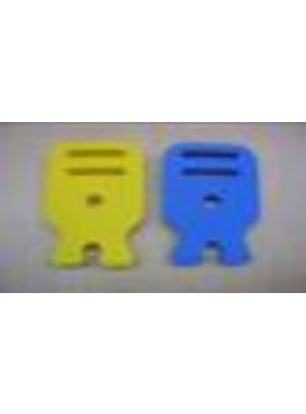 HY MODEL ACCESSORIES HY MAIN HELI ROTOR HOLDER 95 x 56 x 9 BLUE OR YELLOW<br />