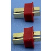 HY MODEL ACCESSORIES HY T PLUG WITH END GRIP U/GOLD PLUG MALE ( 8 pk )<br />