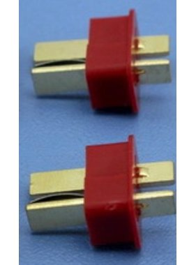 HY MODEL ACCESSORIES HY T PLUG WITH END GRIP U/GOLD PLUG MALE ( 8 pk )<br />(OLD CODE HY210505M )