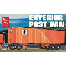 AMT FRUEHAUF FORTY FOOT EXTERIOR POST VAN RETRO DELUXE EDITION  AMT1711/6