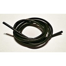 ACE 14AWG SILICONE WIRE BLACK 1MT