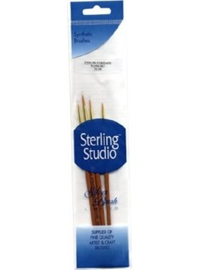 STERLING STUDIO SS-100 STERLING STUDIO 4 PIECES DETAIL BRIGHT 3/0, 0, 1, 2