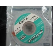WES COMPONENTS SOLDER WICK IDEAL FOR BATTERY PACK ASSEMBLY  3.5mm x 1.5mt