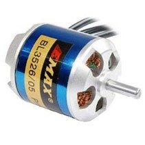 EMAX OUTRUNNER MOTOR BL 3526/04 860KV 5S LIPO 65AMP SUITS 13 X 6 OR 14 X 8 PROP