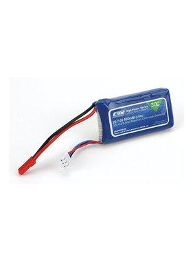 EFLITE EFLITE 2S 7.4V 450NAH LIPO BATTERY EFLB4502SJ30