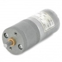 25mm Diameter 12V High Torque100rpm 370 Precision Gear Motor - Silver