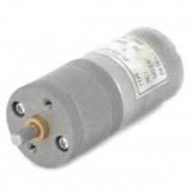 25mm Diameter 12V High Torque100rpm 370 Precision Gear Motor - Silver