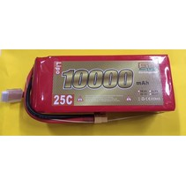 ENRICH POWER LIPO 25C 22.2V 10000mAh READ SAFETY WARNING BEFORE USE 71x54 x183mm 1400gr  SOLD WIT XT-60  CONNECTOR
