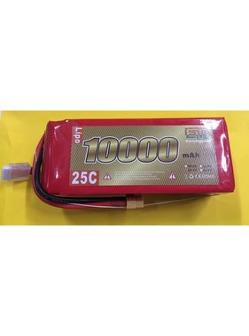 LION POWER - TIGER POWER LIPOS ENRICH POWER LIPO 25C 22.2V 10000mAh READ SAFETY WARNING BEFORE USE 71x54 x183mm 1400gr  SOLD WIT XT-60  CONNECTOR