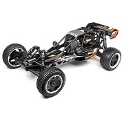 HPI HPI BAJA 5B 2.2 2016 EDITION with d box ( drift  box ) MATTE BLACK or GUN METAL  BODY  READY TO RUN  WITH OIL & 240V RX CHARGER