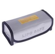 ACE RADIO CONTROLLED MODELS ACE LIPO BOX BAG MEDIUM 185X75X60mm AVAIL BLACK OR SILVER