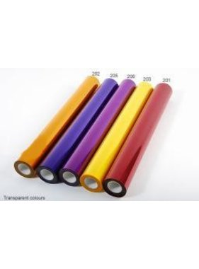 HY MODEL ACCESSORIES HY COVERING FILM TRANSPARENT YELLOW  638MM  2MT<br />