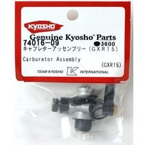 KYOSHO CARBURETOR ASSEMBLY GXR 15 74016-09