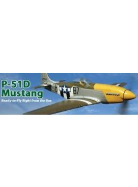 PARKZONE PARKZONE BARE FUSELAGE P-51D  PKZ1567