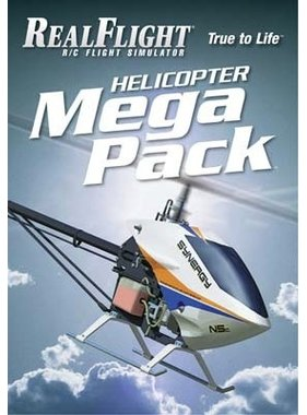 GREAT PLANES GREAT PLANES NOW $30.00 REAL FLIGHT 6 HELI MEGA PACK  GPMZ4162
