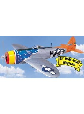 TOPFLITE TOP FLITE P-47D THUNDERBOLT 1/5 SCALE 2.1-2.8 SIZE 2.16MT WINGSPAN